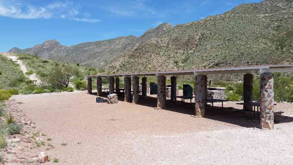 Grill Online Franklin Mountains State Park Group Camp (24 Persons
