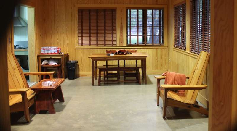 Bathrooms Garner State Park Cabins (without A Fireplace) — Texas