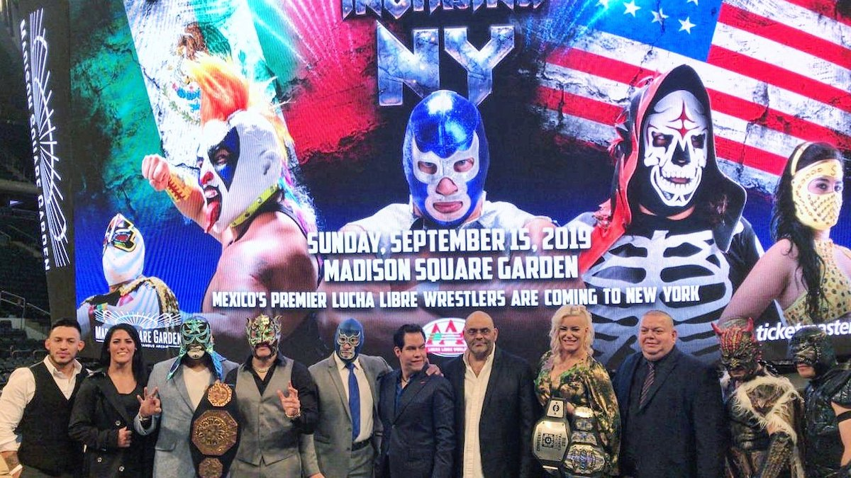 Lucha Libre Mexico Lucha Libre Aaa Announces Msg Show In September Tpww