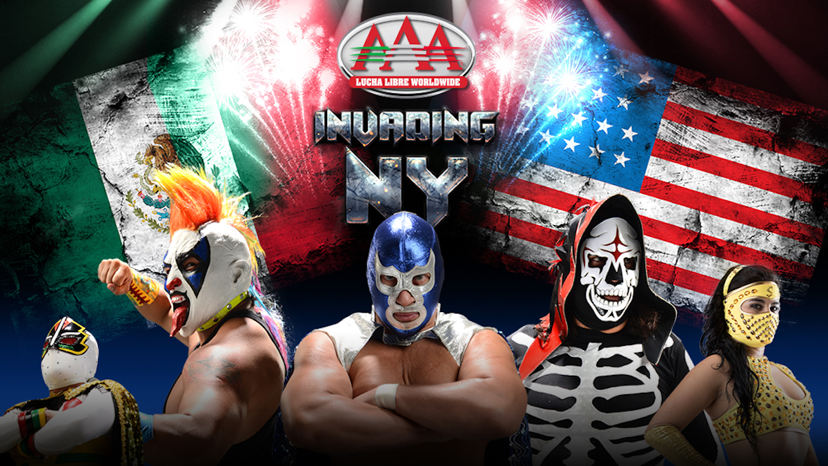 Lucha Libre Aaa Lucha Libre Aaa Show Moved From Msg To Hulu Theater Matches