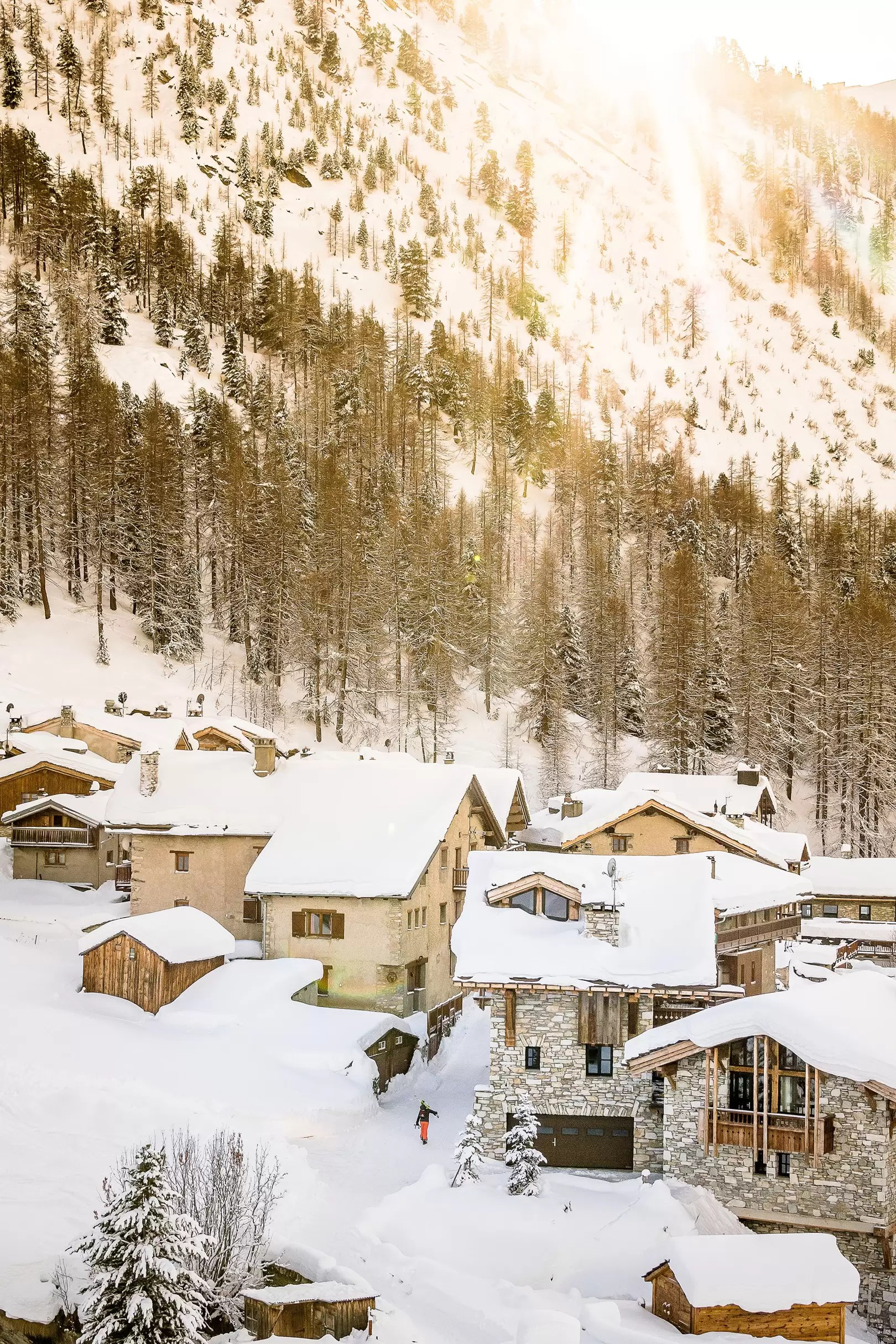 The Farmhouse Val D Isere Where To Ski In January Cn Traveller
