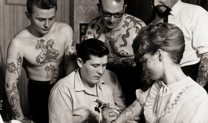 Image retrieved from: http://www.tattoolife.com/tattooing-a-to-z-1-ron-ackers-by-pepe-and-mina-von-b/ron-ackers-at-work-bristol-great-britain-1950s-via-flavorwire-com/