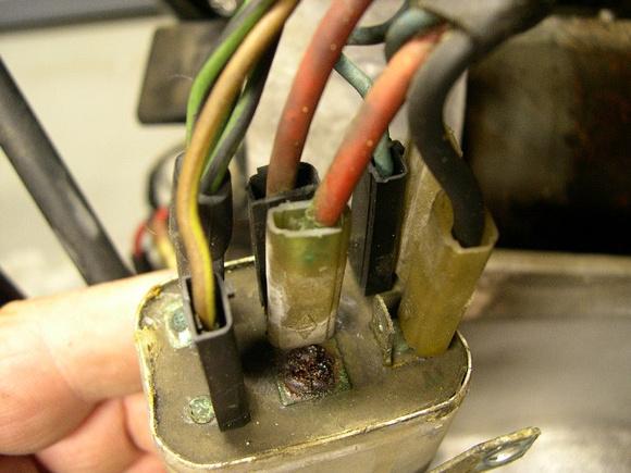 1976 R90/6 Starter Relay Wiring