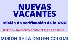¿Desea trabajar para la Misión de las Naciones Unidas en Colombia? Conozca todas las vacantes disponibles