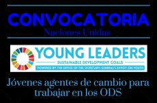Las Naciones Unidas busca jóvenes agentes de cambio para trabajar en los Objetivos Desarrollo Sostenible