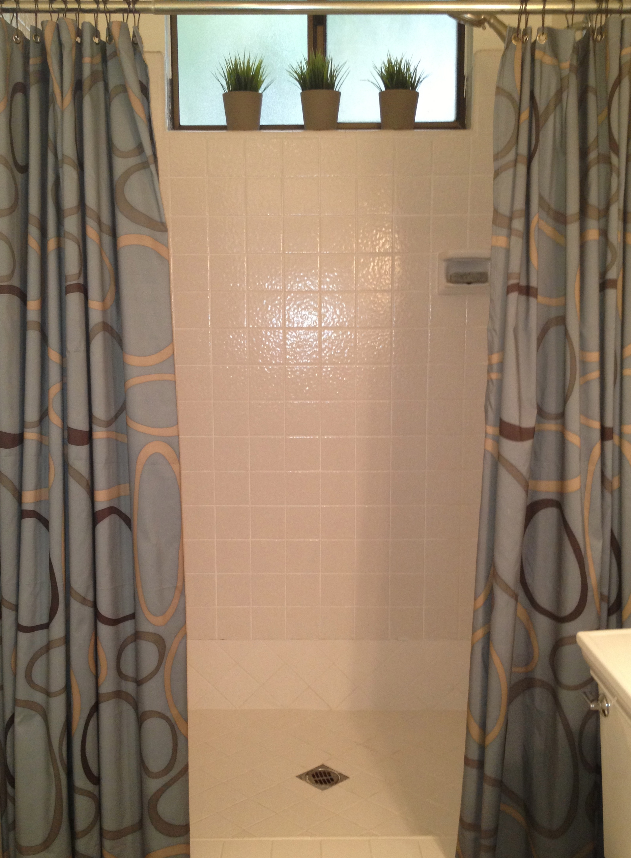 Ikea Shower Curtains Guest Bathroom Beauty - Trace | Style | Create | Live