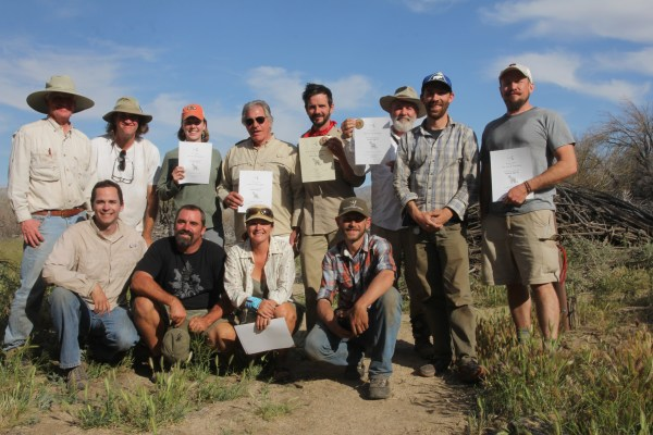 The San Diego desert Specialist crew. We all got some sun on that one.