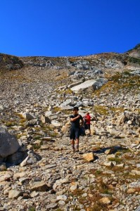 Monashee Alpine Hiking to Twin Lakes