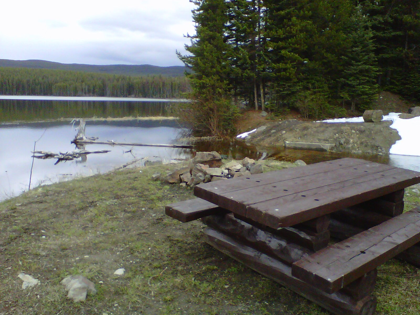 James Lake Recreation Site and camping near Kelowna BC.