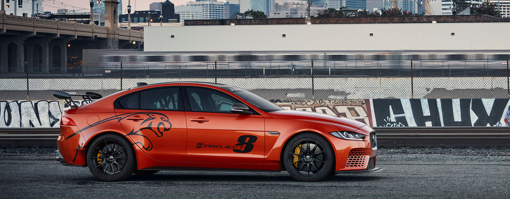 Jaguar Xe Sv Project 8 Jaguar Xe Sv Project 8 To Make North American Debut At