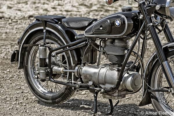 1954 BMW R25 motor