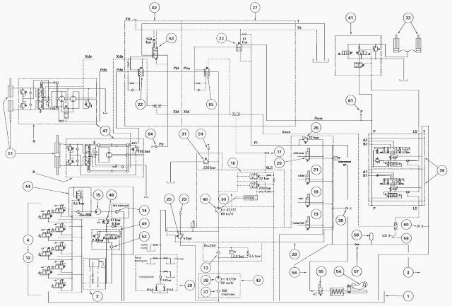 transmission hydraulic circuit diagrams