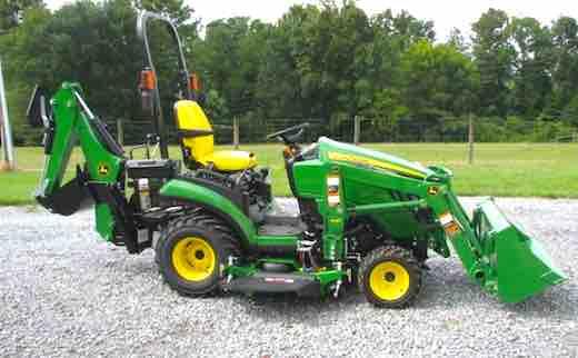 2018 John Deere 1025r Tlb Tractors Review