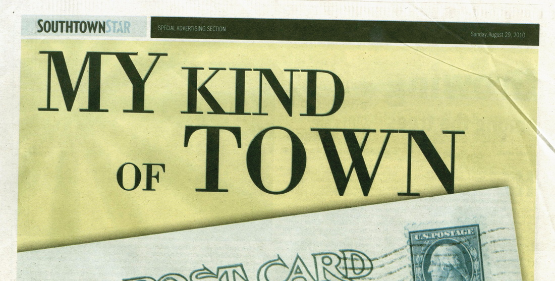 Newspaper special sections - Tracy Ahrens