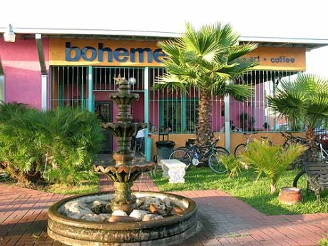 Bohemio's, the East End's first art and music coffeehouse