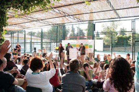 Open forum in Mijas, Málaga, Spain, with Juan del Rio. Photo: Courtesy Juan del Rio