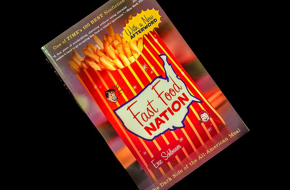 fast food nation chapter four essay Fast food nation by eric schlosser, introduction-chapter 4 august 19, 2016 by vocabularycom (ny) in this exposé, award-winning journalist eric schlosser explores the practices and effects of the fast food industry.