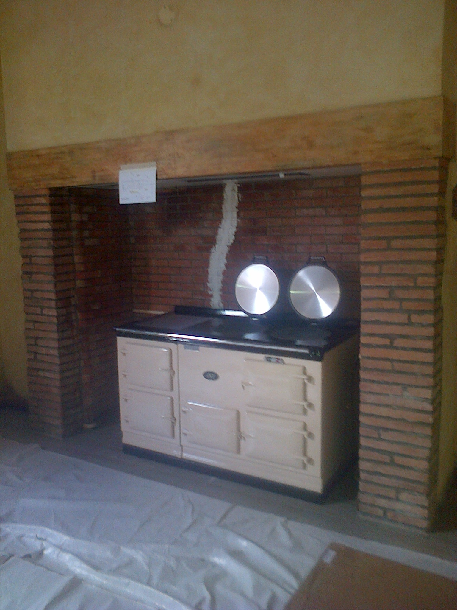Aga France 4 Oven Deluxe Aga Originally Oil Or Gas With Electrickit