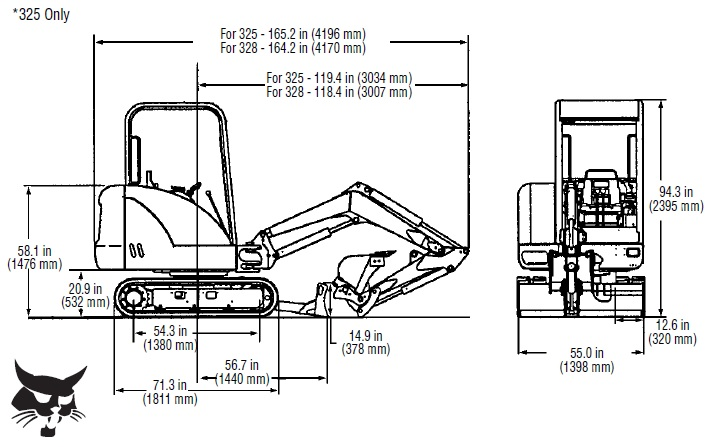 bobcat skid loader belt diagrams