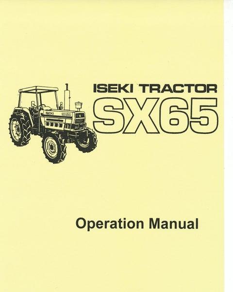 ISEKI SX65 OPERATION MANUAL Trade Me