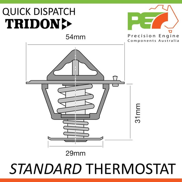 TRIDON * STANDARD THERMOSTAT FOR VOLVO 122S 140 164 142 144 145