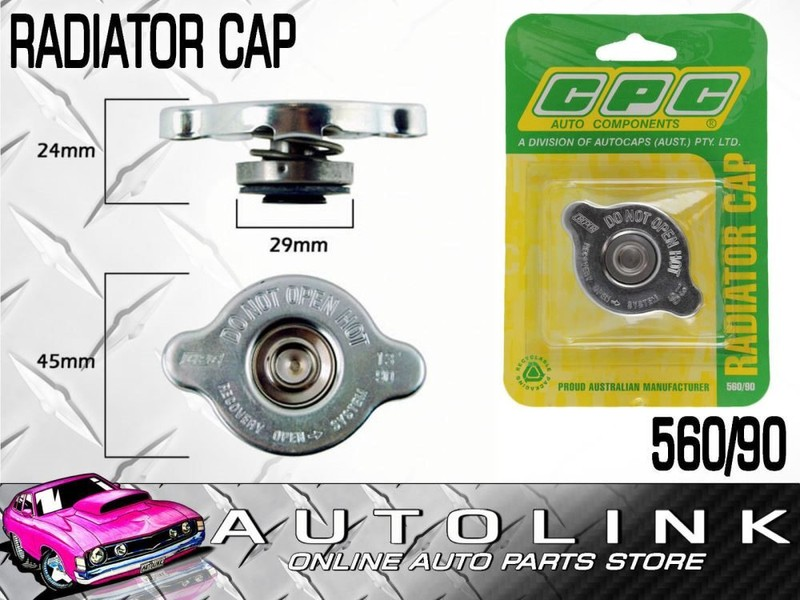 RADIATOR CAP SMALL 13 PSI 90 KPA RECOVERY FOR NISSAN NAVARA D22 30L