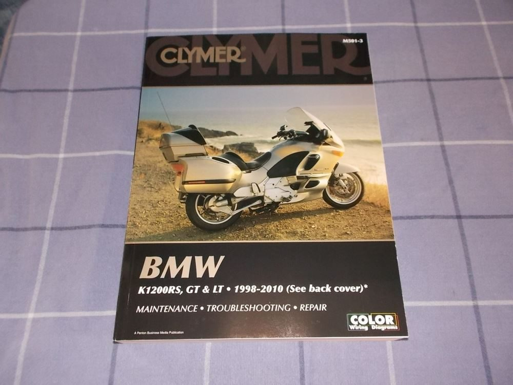 BMW K1200RS, GT  LT 1998-2010 Clymer Manual Trade Me