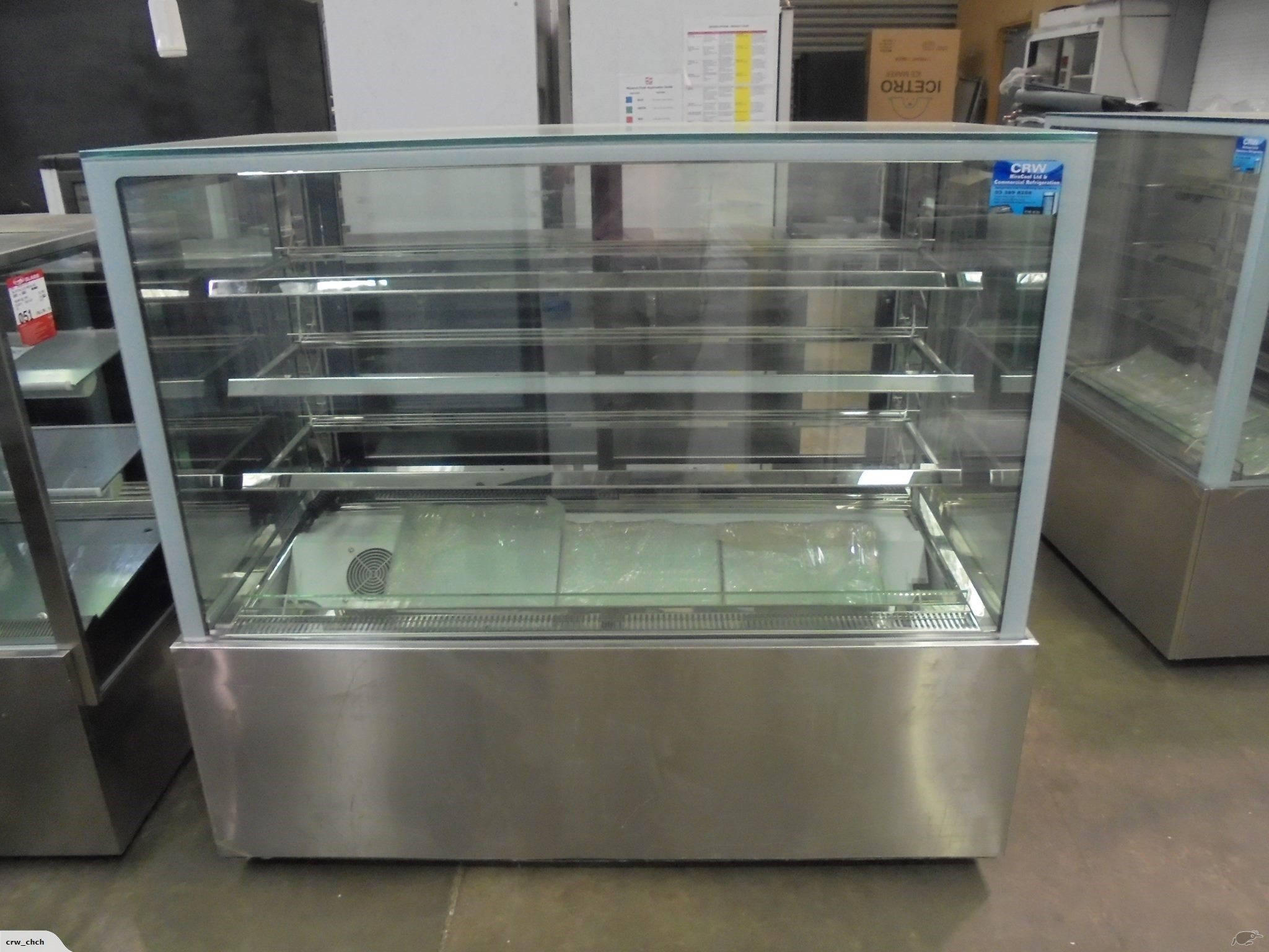 Bakery Display Cabinet New Bakery Display Cabinet Dzf 1500 Trade Me