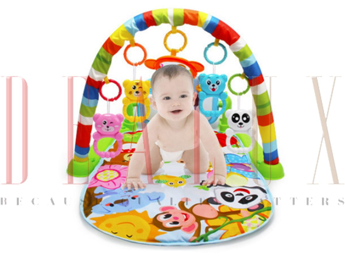How To Play Newborn On Piano Baby Play Gym Kick And Play Mat Newborn Activity Gym Music And Lights Fun Piano