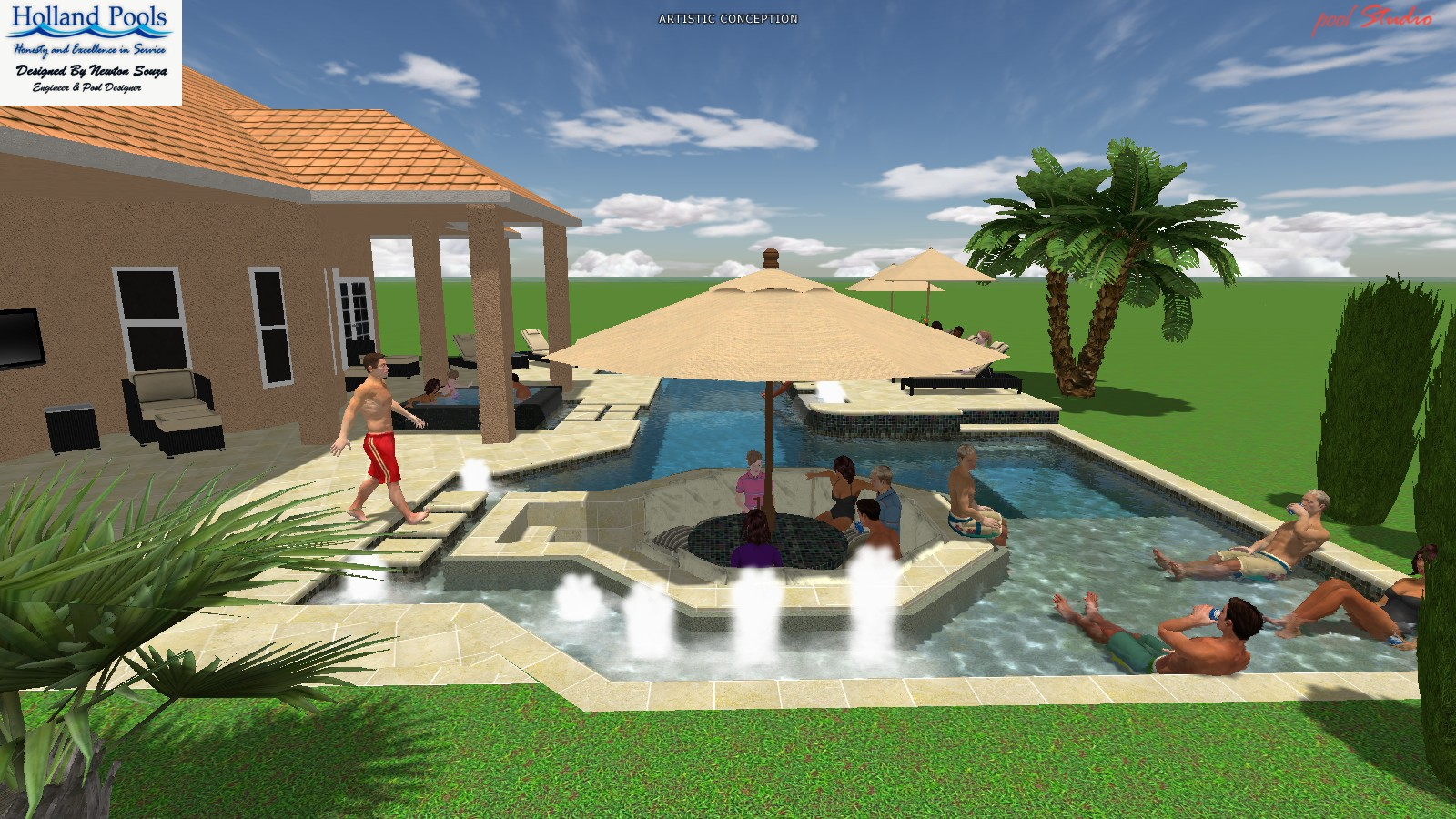 Desain Resort Sport And Resort Pool The Latest Trend In Pool Design