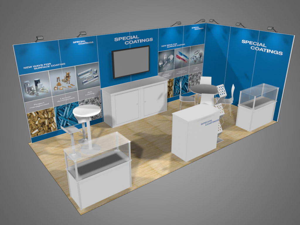 10 X 20 10 X 20 And Longer Inline Exhibits Trade Show Supply