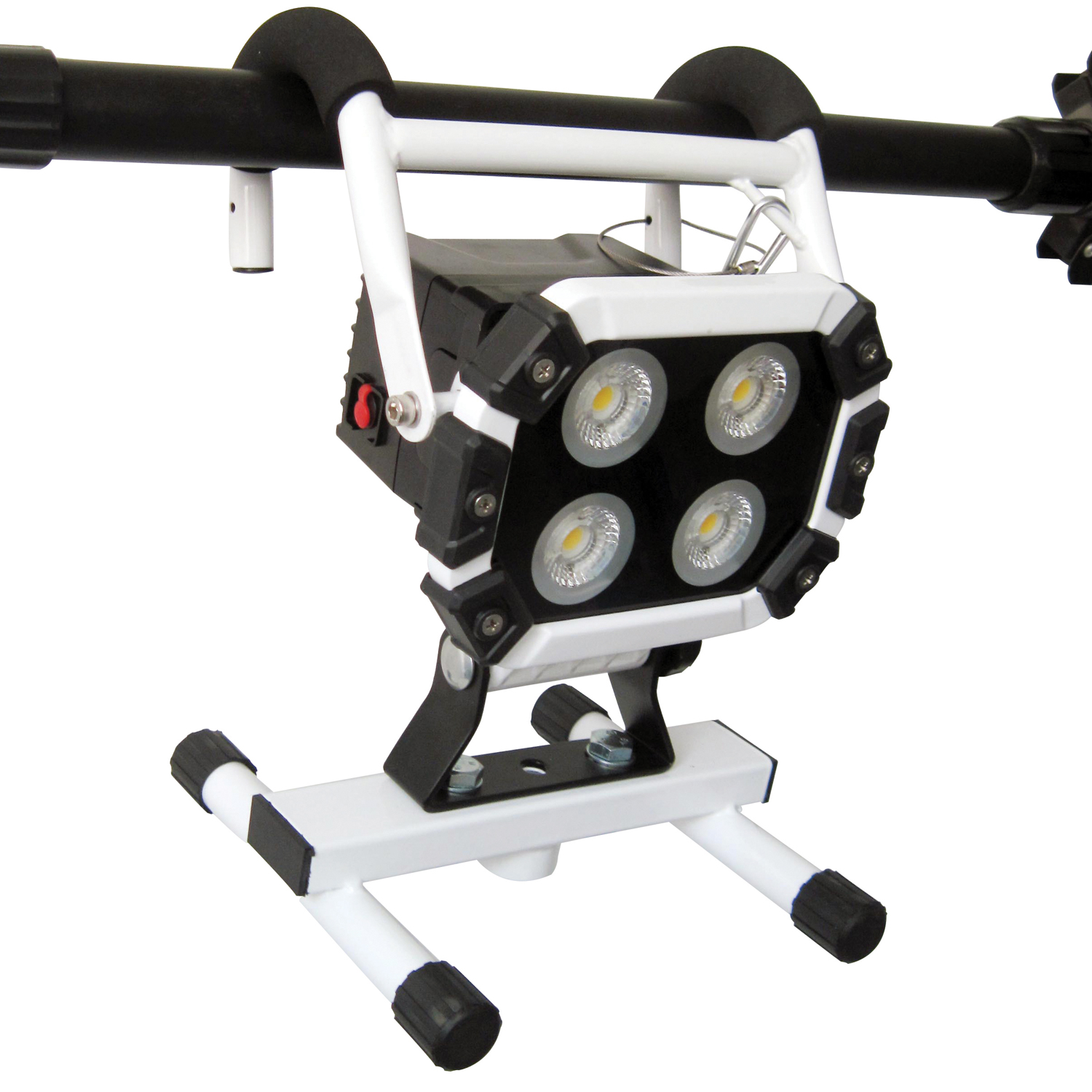 Snan Cob Led Work Light With Adjusting Stand Hanging Hook And Tuff T4000 Rechargeable Work Light Tradetuff
