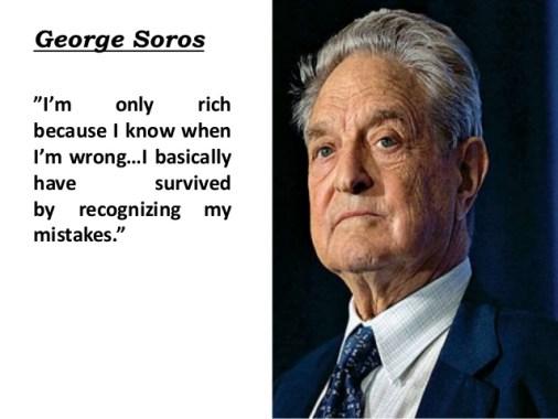 George soros quote