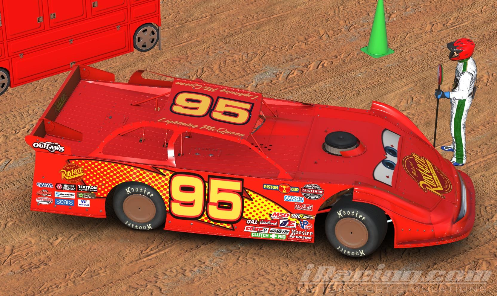 Off Road Lightning Mcqueen Lightning Mcqueen Late Model By Don Craig Trading Paints