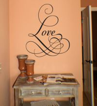 Love -Fancy | Wall Decals - Trading Phrases