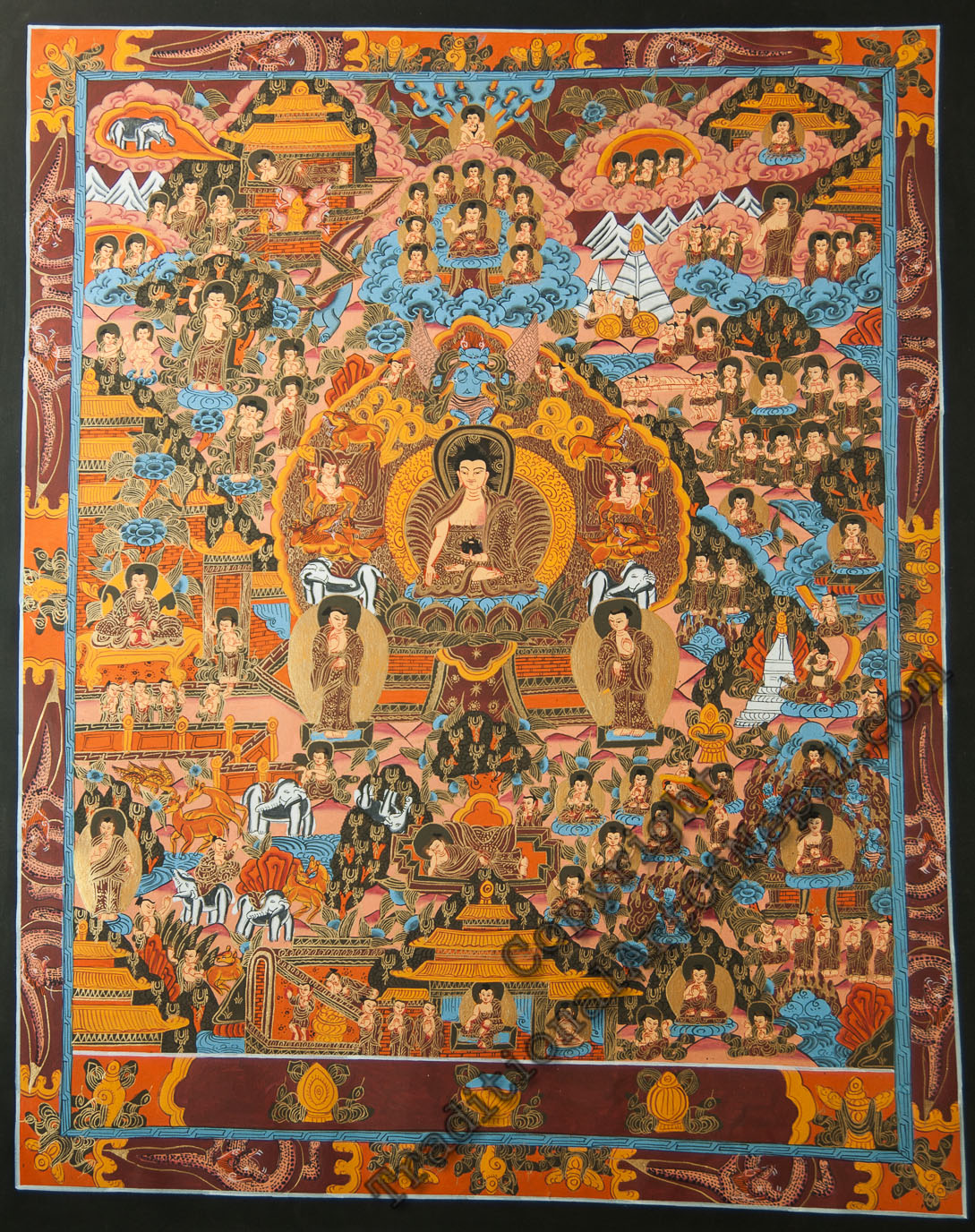 Buddhist artwork