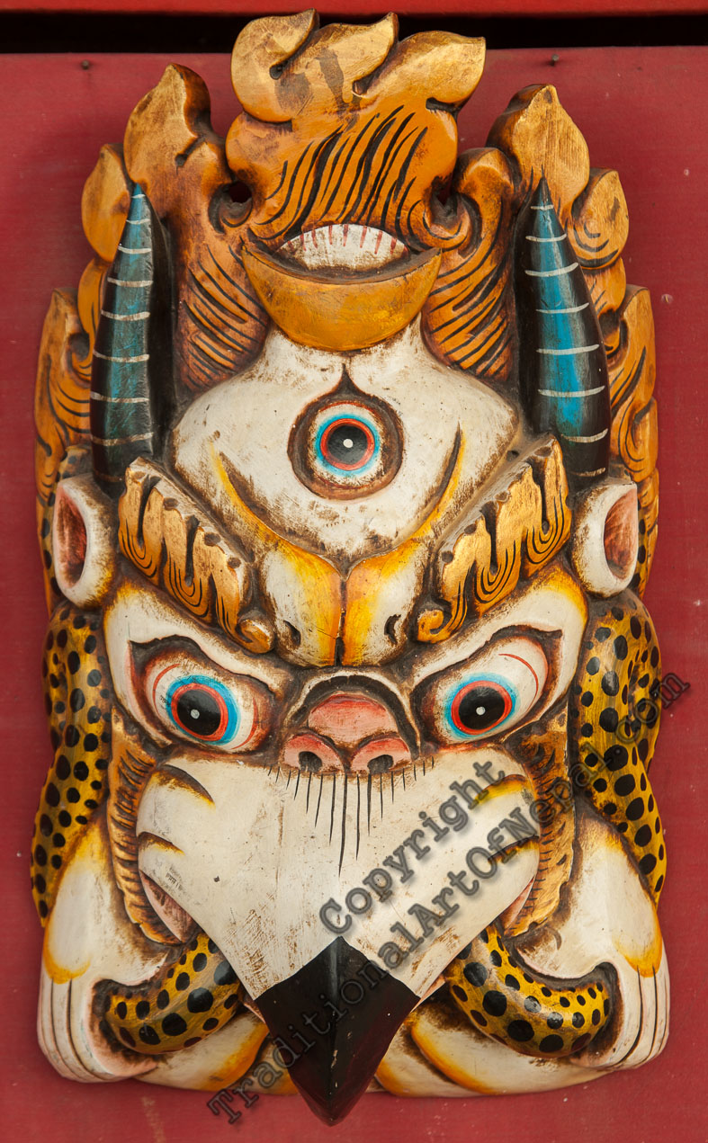 Garuda Wooden Mask