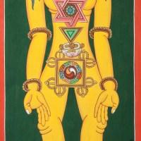 Hand made Tibetan Painting