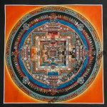 Tme Wheel Thangka Painting