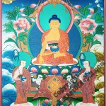 Lord Buddha Tibetan Painting