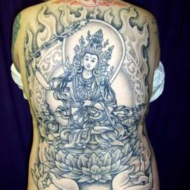 thanka tattoo