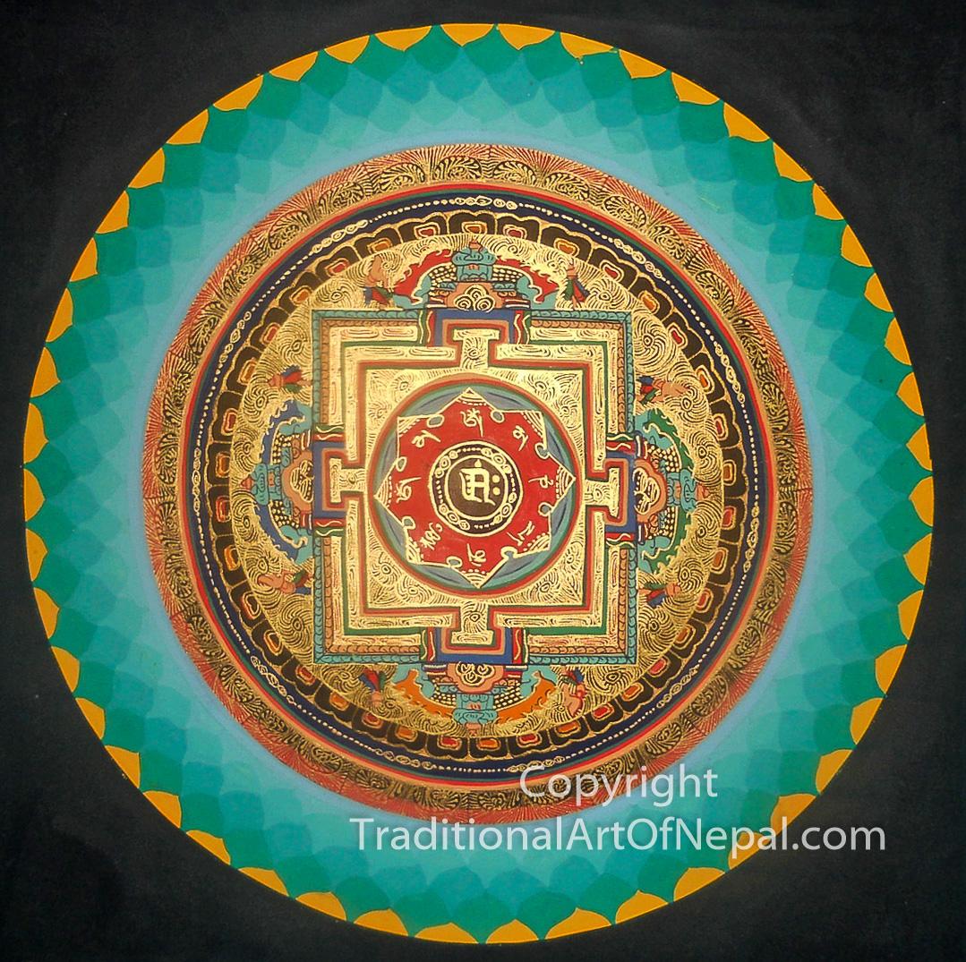 Tibetan thangkas