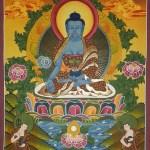 Bhaiṣajyaguru Thangka Painting