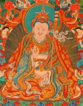 Guru Rimpoche Thangka
