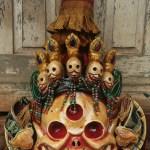Tibetan Ritual Cham Mask