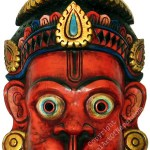 Wooden Mask of Hanuman