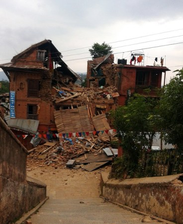 Help people in Nepal