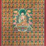 Hand-painted Buddha Thangka