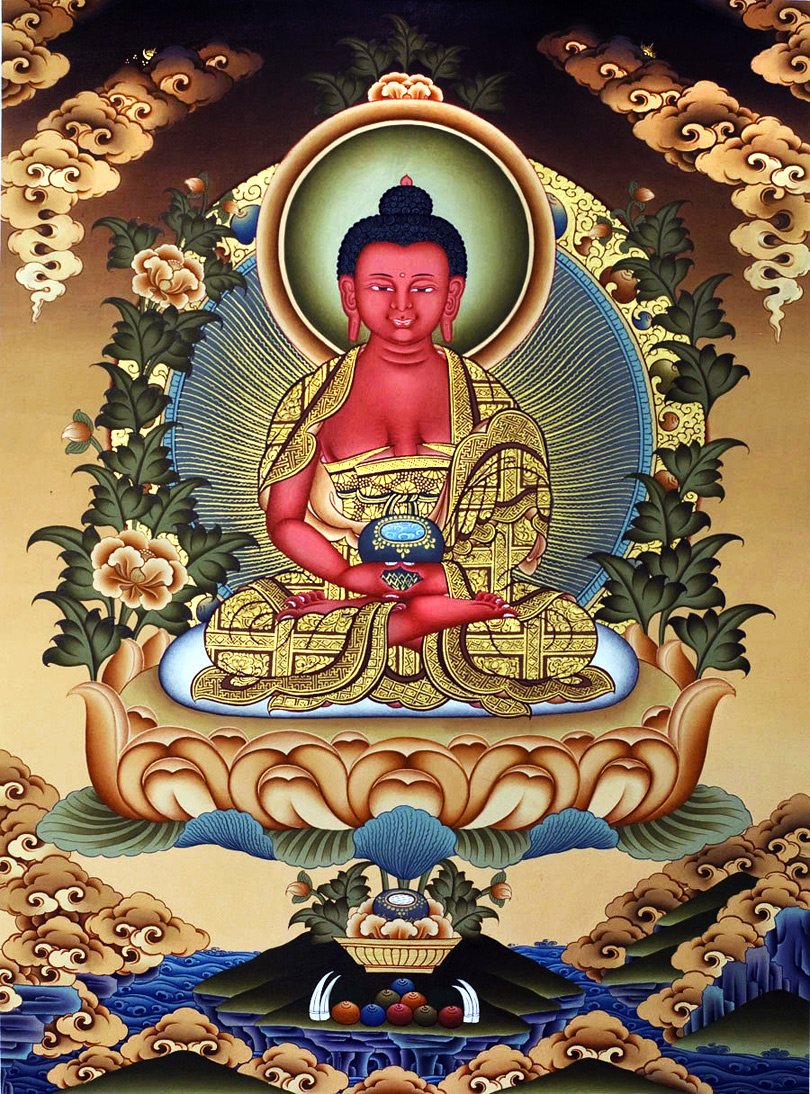 Tangka Painting of Amitabha