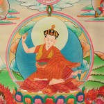 Lama-Karma-Pakshi-Thangka-Painting-center-detail